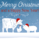 anco - season's greetings - farm animals